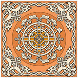 Ancient old russian  pattern Stock Image