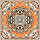 Ancient old russian  pattern Royalty Free Stock Photo