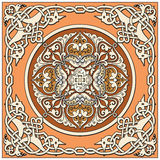 Ancient old russian  pattern Stock Images