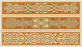 Ancient old russian  pattern Royalty Free Stock Images