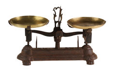 Ancient old scales Stock Image