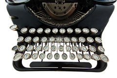Ancient, old typewriter Royalty Free Stock Photography