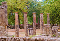 Ancient Olympia, Greece. Stock Photography