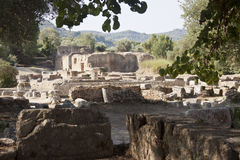 Ancient Olympia Royalty Free Stock Photography