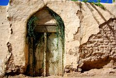 Ancient Omani Doorway Royalty Free Stock Photo