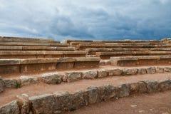 Ancient open-air amphitheatre Stock Images