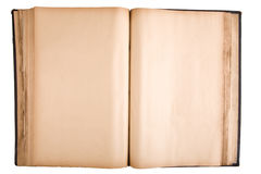 Ancient Open Book Stock Photography