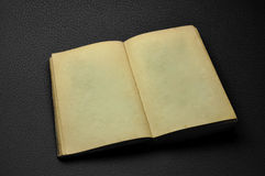Ancient opened blank book Royalty Free Stock Image