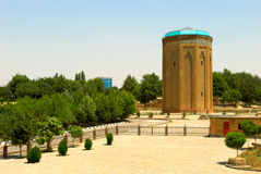 Ancient orient tower royalty free stock image