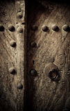 Ancient oriental doors Royalty Free Stock Photo