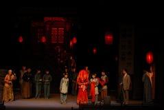 The ancient oriental weddings- Drama autumn Stock Photo