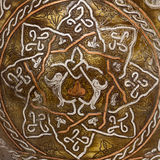 Ancient ornament. Representing a star Royalty Free Stock Photo