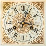 Ancient ornamental clock Stock Images