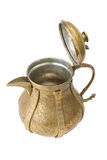 Ancient ornamental teapot, jug, open Stock Photography