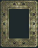 Ancient ornaments. Frame with ancient golden ornaments Royalty Free Stock Photography