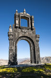 Ancient Ornate arch Quilli, La Paz, Bolivia Royalty Free Stock Photos