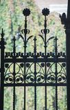Wrought Iron Fence/Gate royalty free stock photo