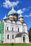Ancient orthodox cathedral. Cathedral of the Nativity of the Theotokos in Suzdal Kremlin, Suzdal, Russia Royalty Free Stock Images