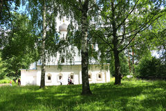 The ancient Orthodox Church Royalty Free Stock Images