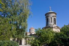 Ancient orthodox church in Kerch. Crimea Stock Photography