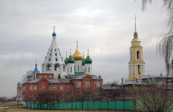 Ancient Orthodox Churches in Kolomna Royalty Free Stock Photography