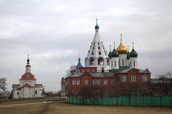 Ancient Orthodox Churches in Kolomna Royalty Free Stock Image