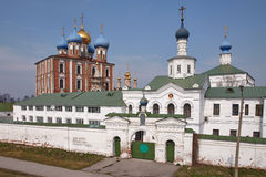 Ancient Orthodox Churches in Ryazan Royalty Free Stock Images