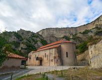 Ancient Orthodox monastery in the mountains. Royalty Free Stock Photos