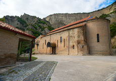 Ancient Orthodox monastery in the mountains. Royalty Free Stock Images