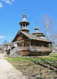 Ancient orthodox wooden church Royalty Free Stock Image