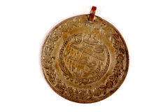 Ancient ottoman coin. Picture of a close up of an ancient ottoman coin Stock Images