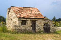 Ancient outbuilding in the south Stock Image