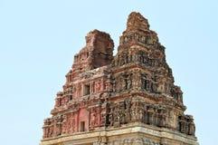 Ancient overgrown ruins of Hampi, Karnataka, India Stock Photo