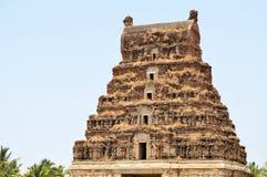 Ancient overgrown ruins of Hampi, Karnataka, India Royalty Free Stock Photos