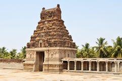 Ancient overgrown ruins of Hampi, Karnataka, India Stock Images