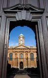 Ancient Oxford college Royalty Free Stock Photo