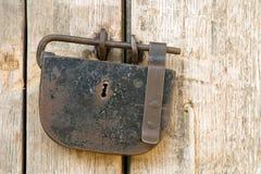 Ancient padlock Stock Photos