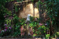 Ancient pagan stone statue in Koh Samui Royalty Free Stock Image