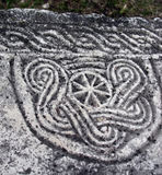 Ancient pagan symbol royalty free stock photo