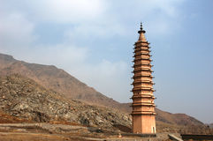 Ancient pagoda Stock Images