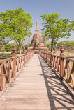 Ancient pagoda. Royalty Free Stock Image