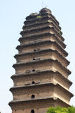 Ancient pagoda stock photography