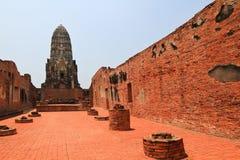 Ancient pagoda. In ayutthaya,Thailand Royalty Free Stock Photos