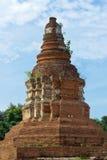 Ancient Pagoda. Ancient Ruins of Pagoda (Chedi) at Wiang- Kum-Kam in Chiangmai Thailand Stock Photo