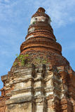 Ancient Pagoda. (Chedi) at Wiang Kum Kam in Chiangmai Thailand Royalty Free Stock Images