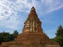 Ancient Pagoda. (Chedi) at Wiang Kum Kam in Chiangmai Thailand Stock Photos