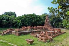 Ancient Pagoda. (Chedi) at Wiang Kum Kam in Chiangmai Thailand Stock Photo