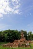Ancient Pagoda. (Chedi) at Wiang Kum Kam in Chiangmai Thailand Royalty Free Stock Photos