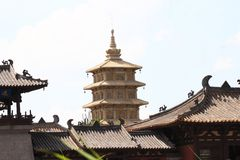 Ancient pagoda royalty free stock photos