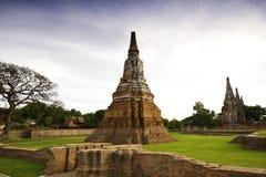 Ancient Pagoda of Ayudhaya Stock Images